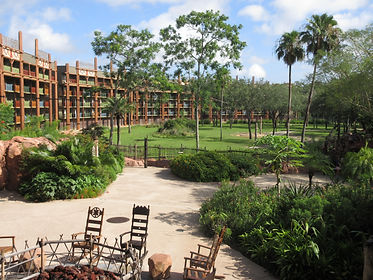 Disney's Animal Kindom Lodge disney word resort hotel