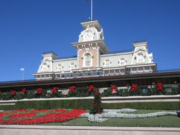 Chritmas at  Disney's Magic Kingdom