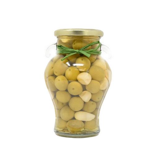Garlic & Rosemary Whole Green Olives
