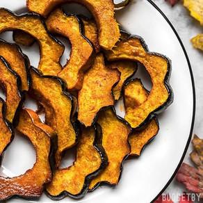 Wild Mushroom & Sage Roasted Acorn Squash