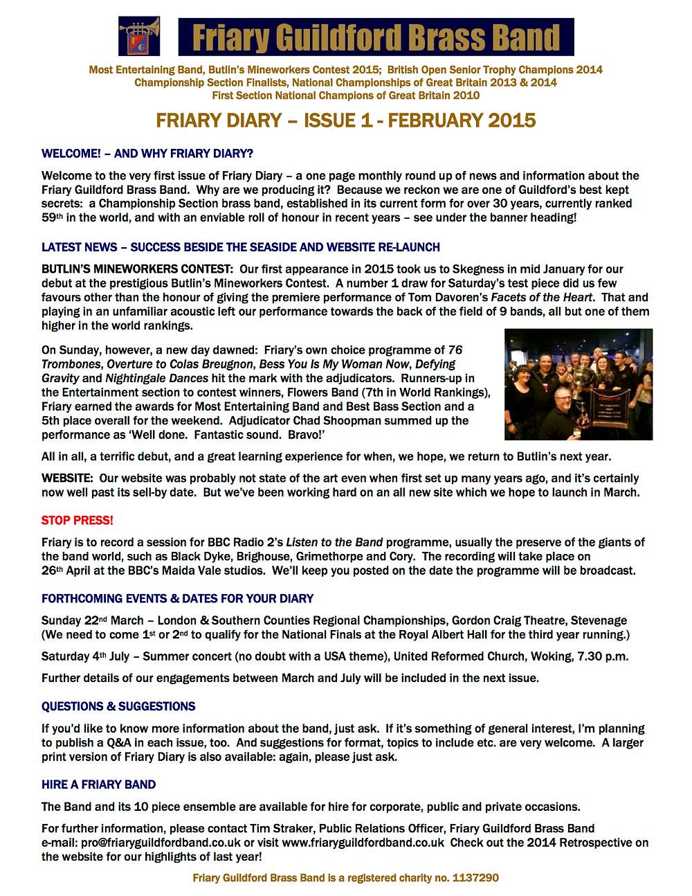 Friary Diary issue 1 February 2015.jpg