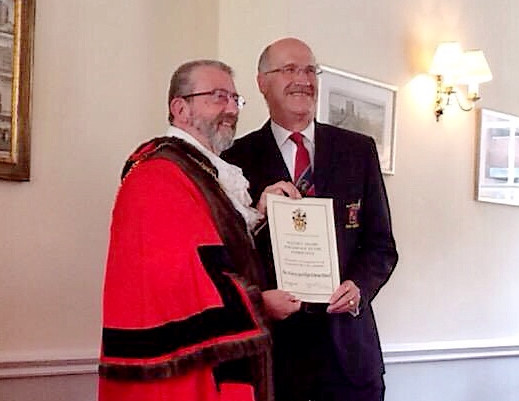Friary Receives Mayor's Award for Service to the Community