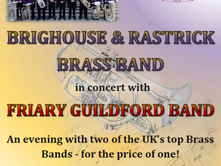 Friary Join Forces with Brighouse & Rastrick for June Concert