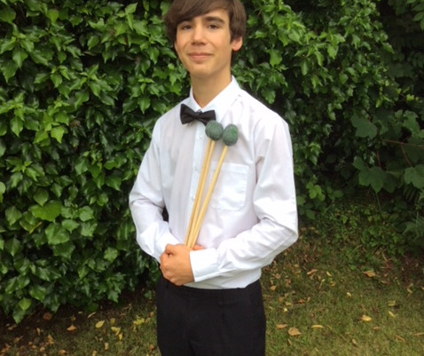 Talented Young Percussionist A Big Hit With Friary!