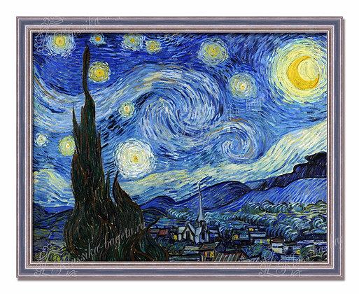 """Ван Гог, """"Звездная ночь""""."""