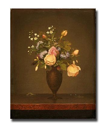 """Картина Хед М._""""Натюрморт с цветами"""""""