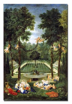 """Котель Ж., """"Дубовая роща в садах Версаля"""""""