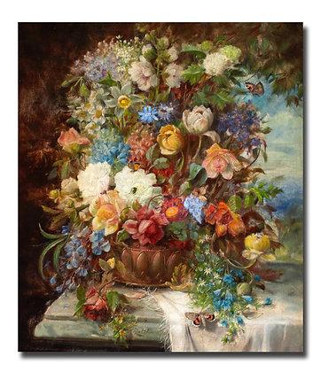 """Зацка Х., """"Летние цветы на подоконнике"""""""