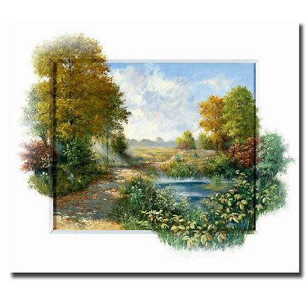 """Картина """"Осеннее утро"""""""