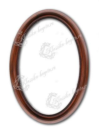 Рама овальная деревянная Д 216-03