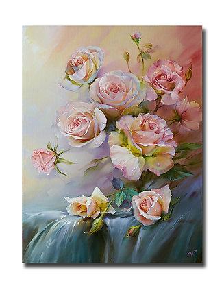 "Картина ""Розовое утро"""