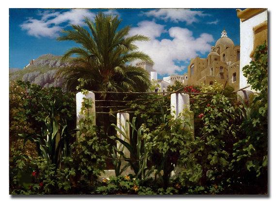 """Лейтон Ф., """"Сад отеля на Капри"""""""