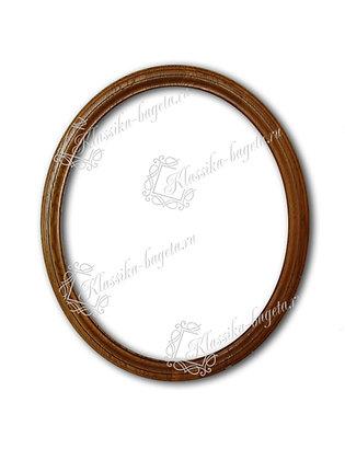 Рама овальная деревянная Д 214-01
