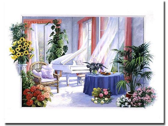"Картина ""Белый рояль"""