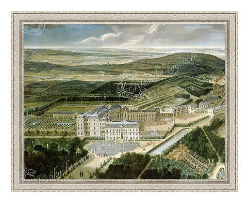 "Аллегрен Э., ""Дворец и парк в Сент Клу"""