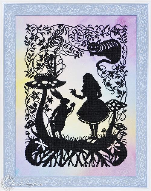 """Вышивка крестом """"Алиса"""""""