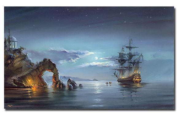 "Картина ""Лунная ночь"""
