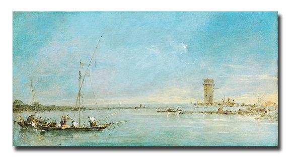 """Гварди Ф., """"Вид на Венецианскую лагуну"""""""