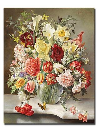 """Картина_Лейтгеб Ф., """"Цветы"""""""
