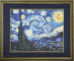 """Ван Гог """"Звездная ночь""""."""