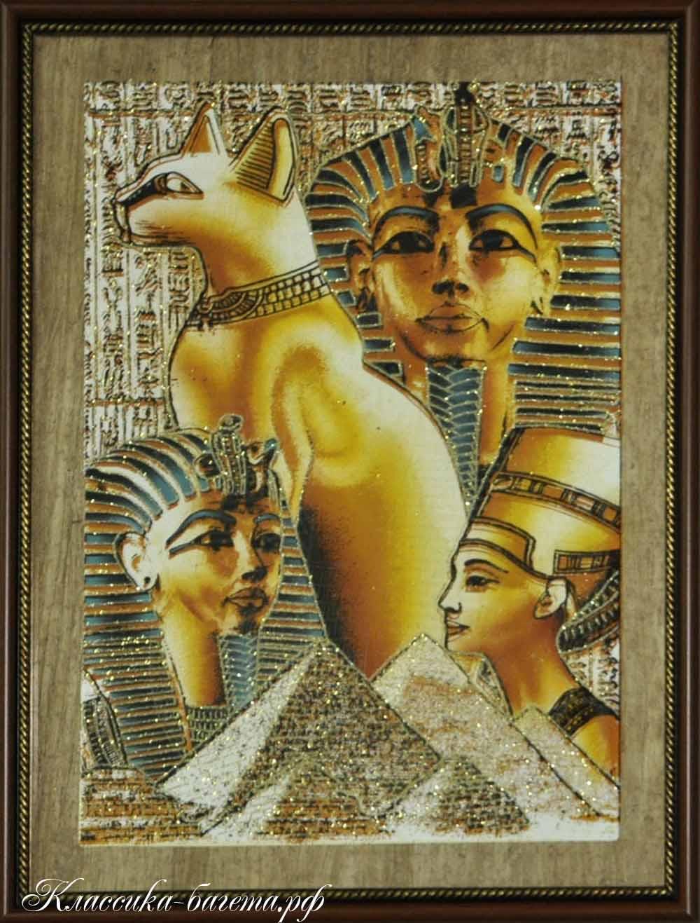 Оформление папируса в раму