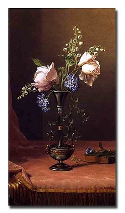 "Картина_Хед М., ""Цветы"""