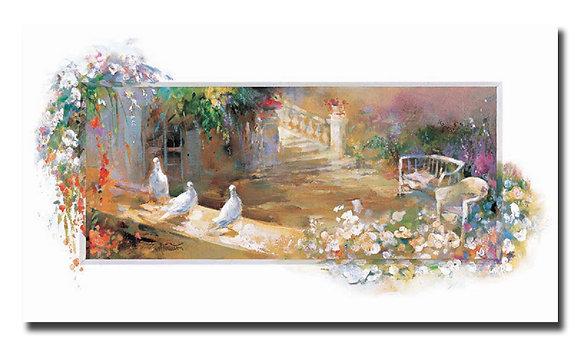 "Картина ""Тихий дворик"""