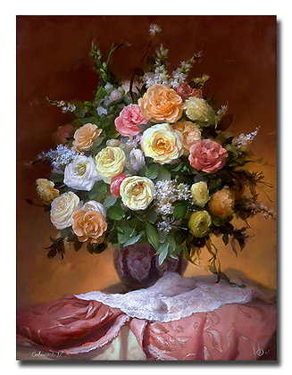 "Картина ""Букет из роз"""