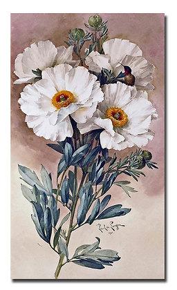"""Картина_Лонгпре Р., """"Цветок"""""""
