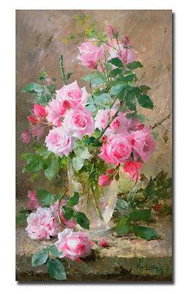 """Мортельманс Ф., """"Натюрморт с розами"""""""