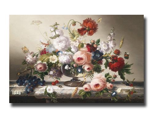 "Картина_Швамбергер Х., ""Натюрморт с цветами"""