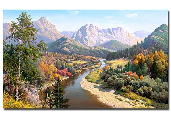 """Картина """"Осень в горах"""""""