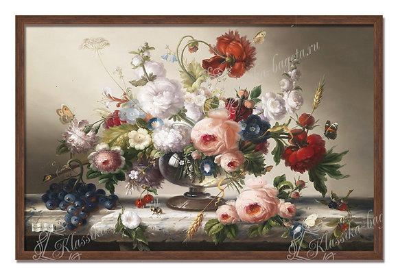 "Швамбергер Х., ""Натюрморт с цветами"""