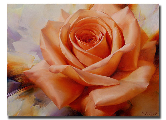"Картина ""Оранжевая роза"""