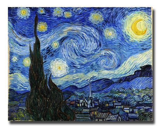 """Ван Гог, """"Звездная ночь"""""""
