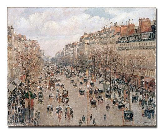 """Писсаро К., """"Бульвар Монмартр в Париже"""""""