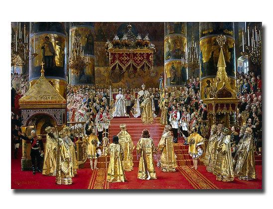 """Беккер Ж., """"Коронация Александра III"""""""