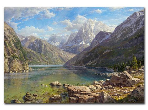 """""""Озеро в горах"""""""