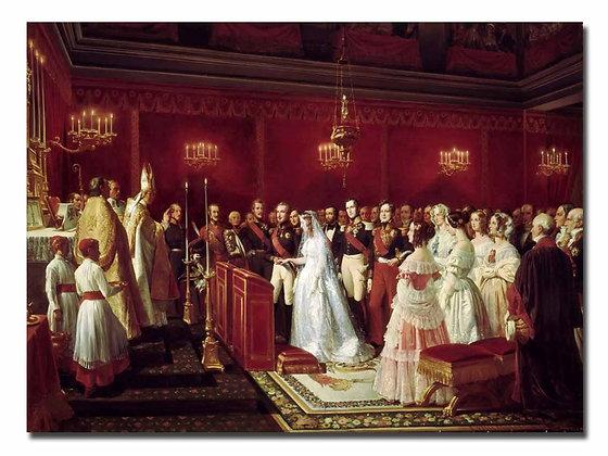 """Филиппото Ф., """"Бракосочетания герцога Немурского и принцессы Саксонской"""""""