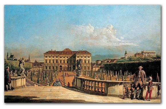 "Беллотто Б., ""Вид на сад дворца Лихтенштейн"""