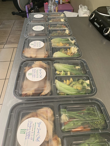 10 portioned gourmet dinners delivered
