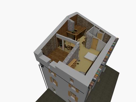 Rénovation d'un étage de combles à Francillon