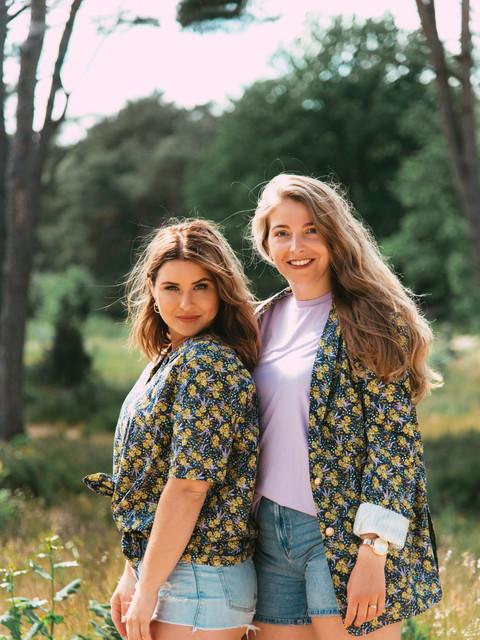 bloemen jurk en blazer duurzaam duurzame kleding eerlijk