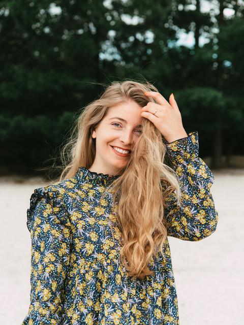 bloemen jurk duurzaam duurzame kleding biologisch katoen