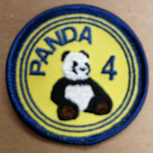 Panda Four Patch
