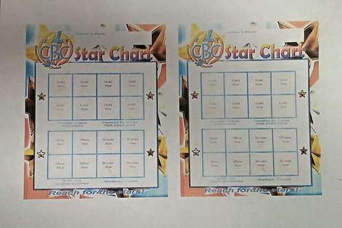 Star Chart (2 per Sheet)
