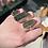 Thumbnail: Finger Print of Space Moldavite Ring