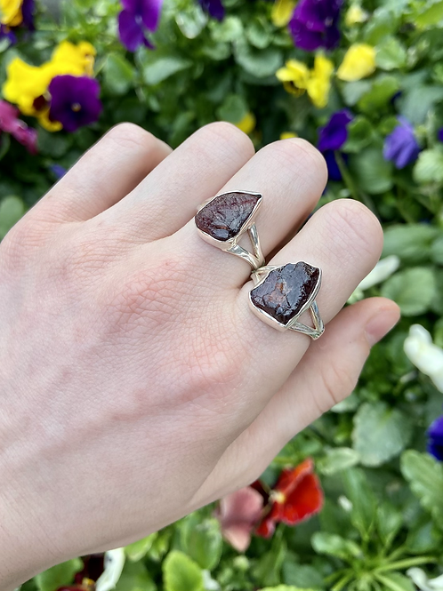 Jelly Garnet Ring