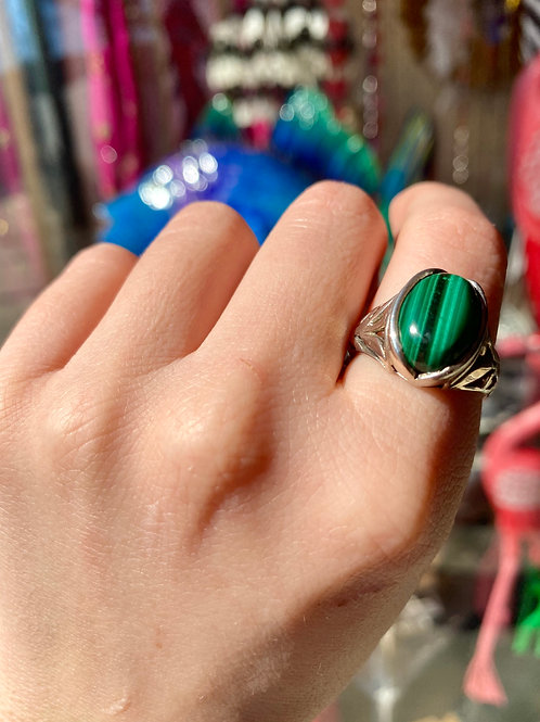 Royal Malachite Ring