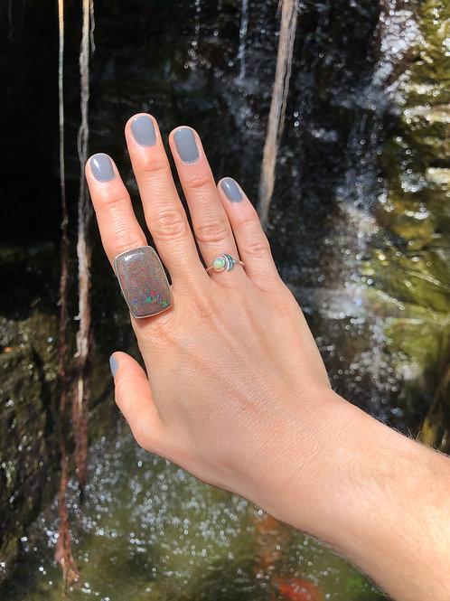 Cubed Confetti Ring